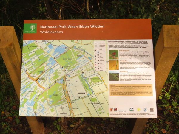 Informatiebord Woldlakebos